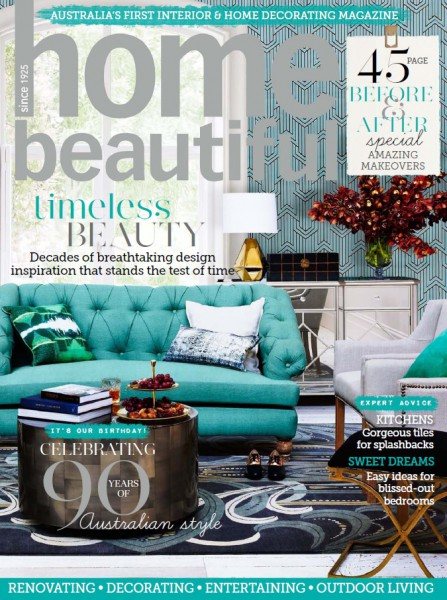 Porch Light Interiors featured in Home Beautiful magazine