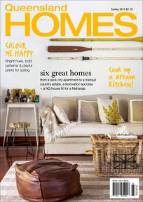 Porch Light Interiors featured in Queensland Homes magazine