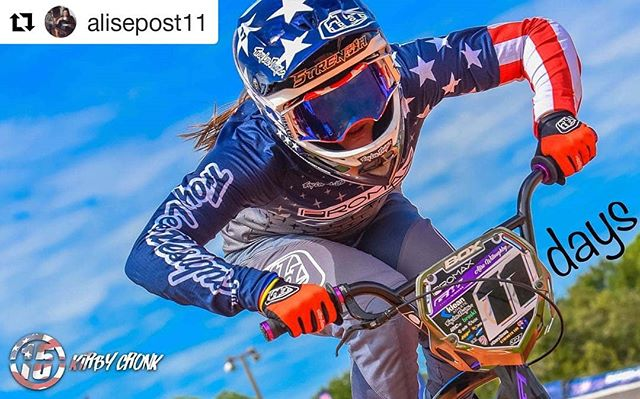 Alise is doing a plate giveaway! Go comment on her post!  #Repost @alisepost11 (@get_repost) ・・・ 11 days until the @usabmx Grandnationals... seems like a perfect day for a 💥PLATE GIVEAWAY💥😁 TAG who you'll be cheering for at #thegreatestraceonearth in the COMMENTS BELOW👇🏼 and I'll pick a random winner TONIGHT‼️