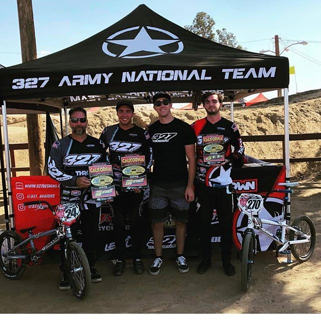 Be on the lookout for the @327army team next year. We are only getting bigger and stronger! #327army -- #bmx #bmxracing #vinyl #usabmx #designs #racing #bikes #illustrator #graphicdesign #custom