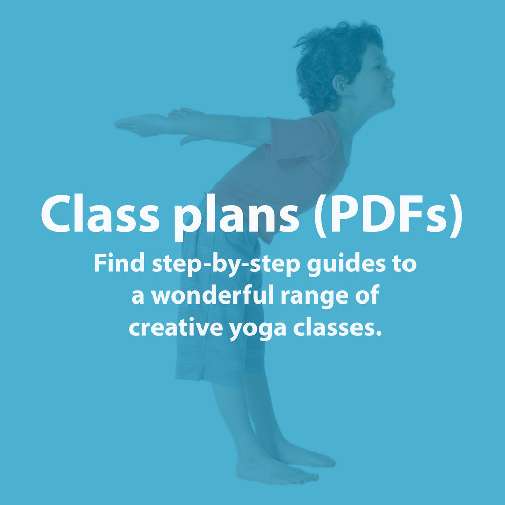 Find step-by-step guides, complete with colourful images, to a wonderful range of creative yoga classes.