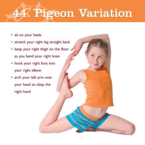 Creative Yoga Games For Kids Vol 1