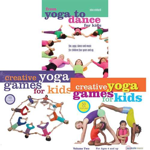 DVD And Yoga Games For Kids Bundle