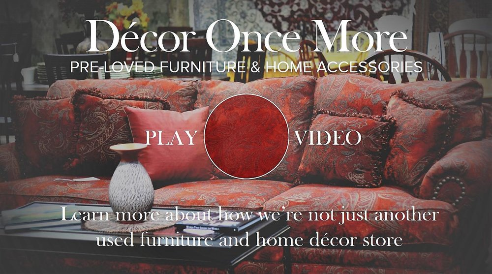 Decor Once More - Estimates and invoices free online thrift store furniture