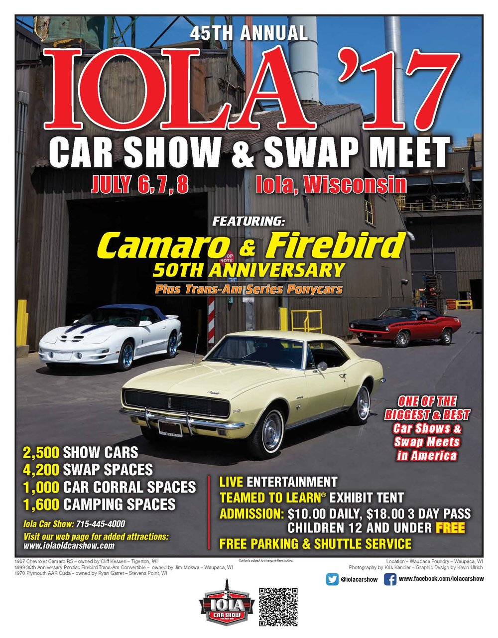 Th Annual Iola Car Show And Swap Meet Green Bay Classics LLC - Iola car show
