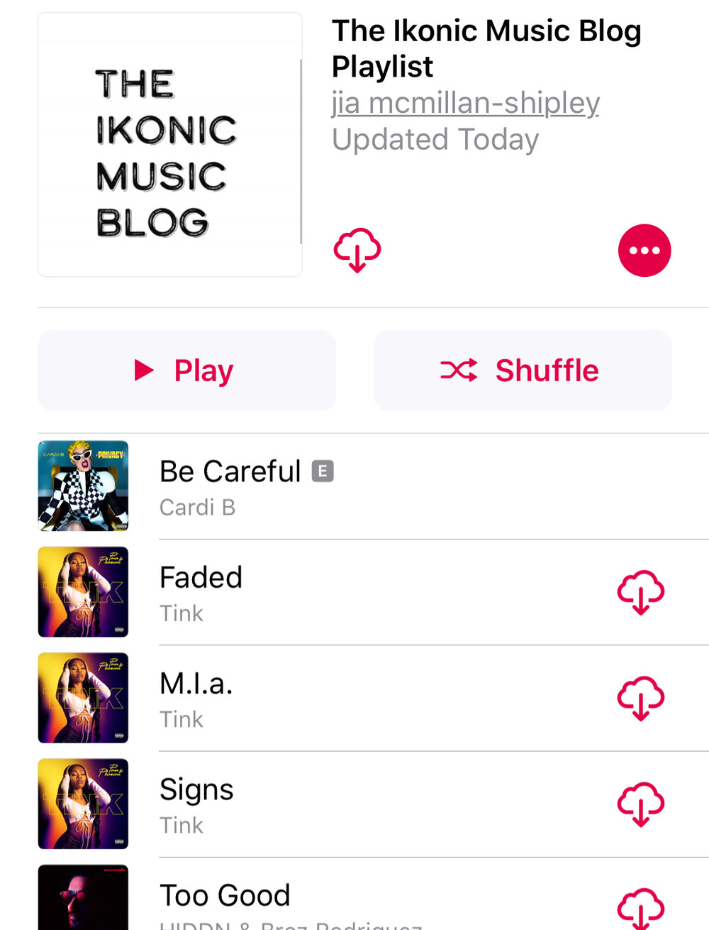 the most ikonic playlist in the world! -