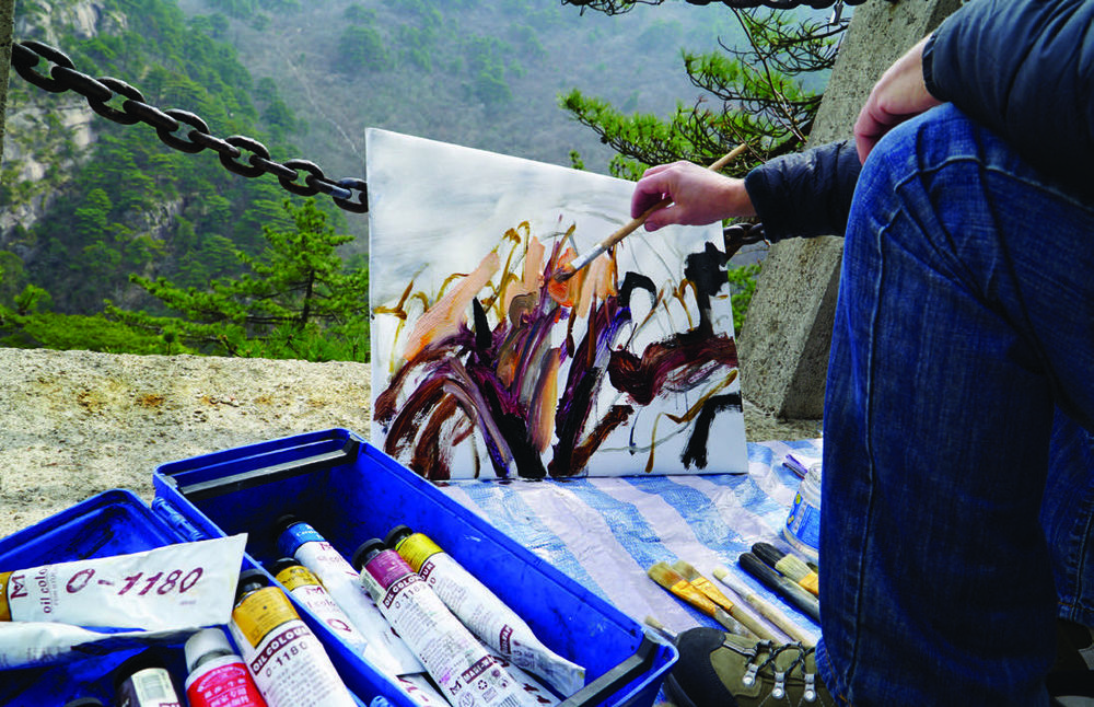 Tim Allen Painting
