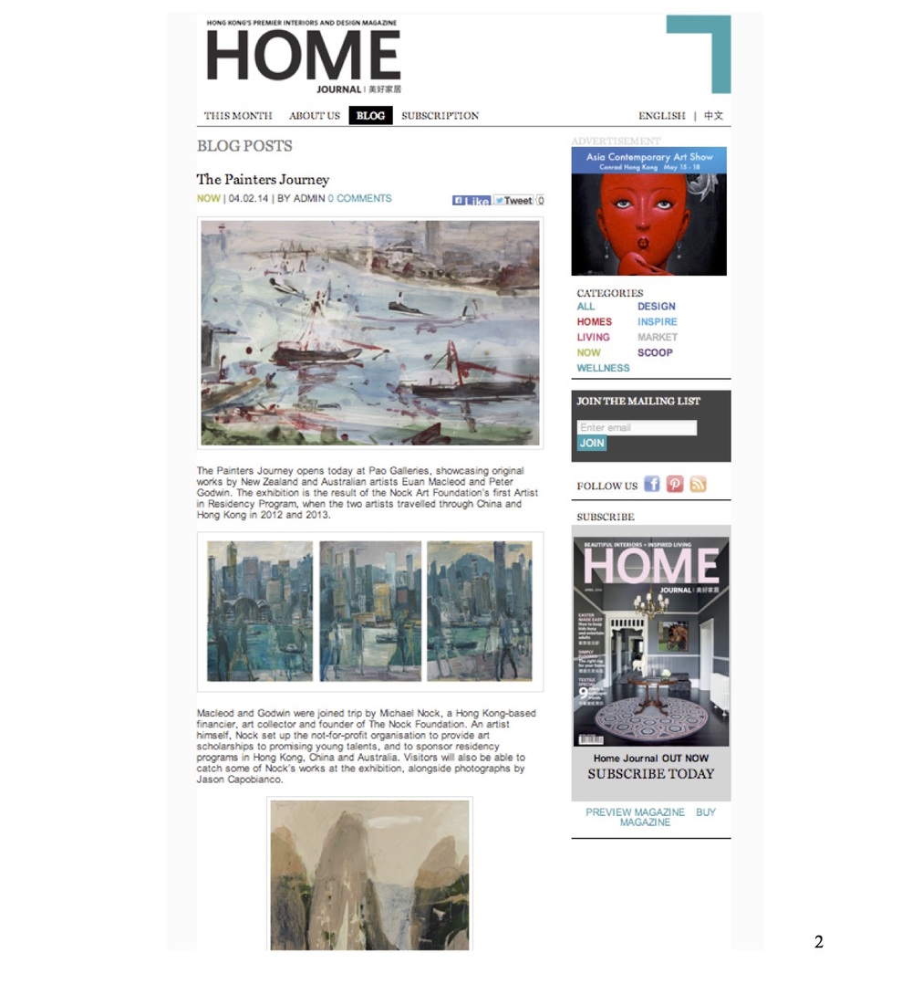 Art Lease, 4 April 2014, Home Journal online, Coverage Report2.jpg