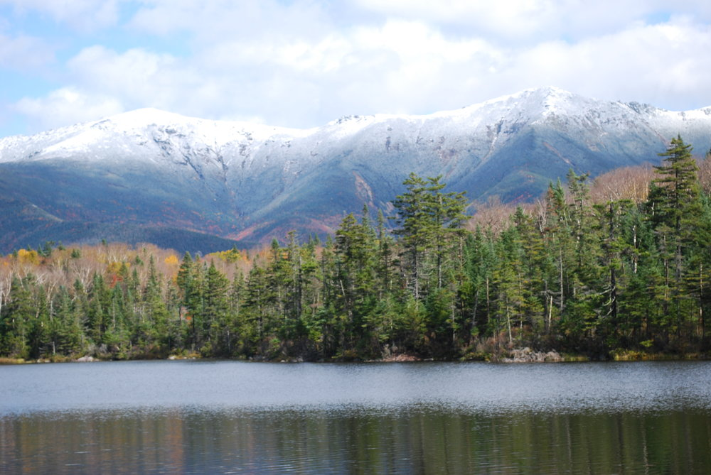 Lonesome Lake, New Hampshire. Image by Jeff Edwards