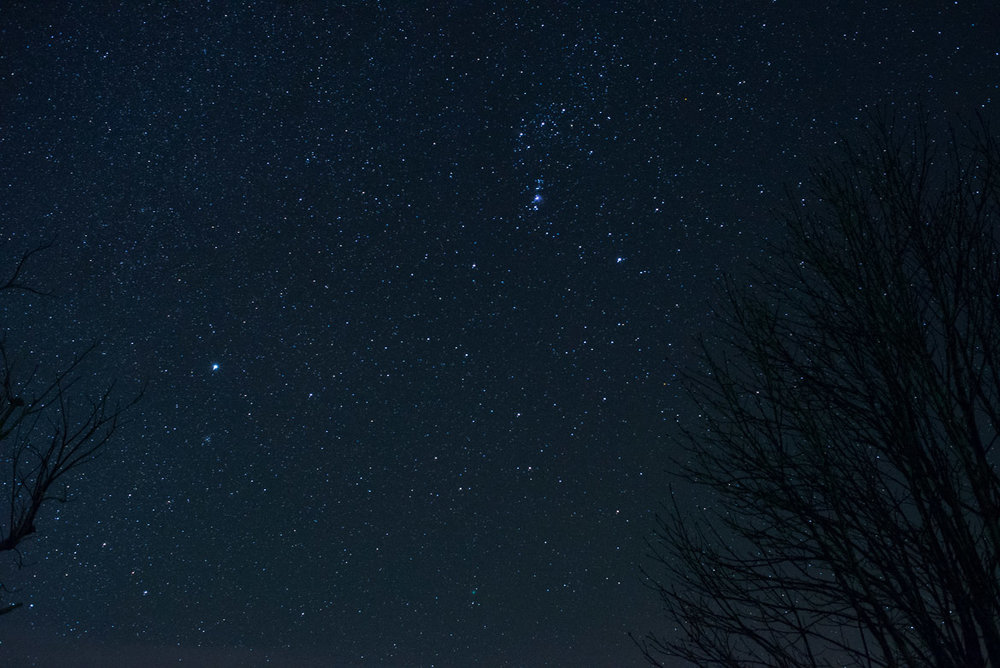 Shooting stars at f/7=Starburst