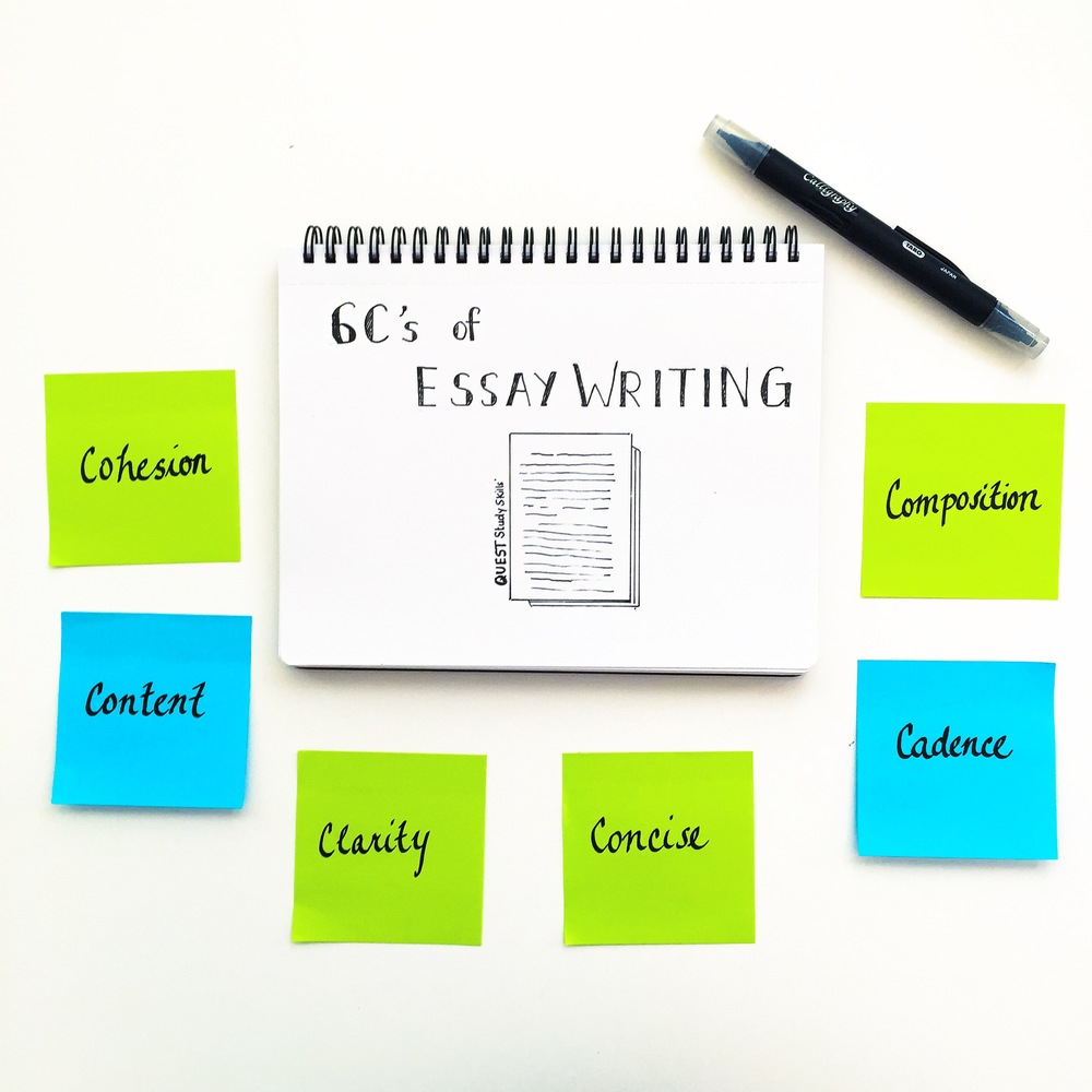 c s of essay writing quest study skills