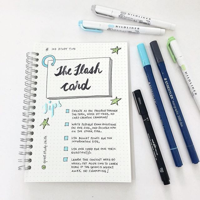 #100studytips Have you ever created flash-cards to study from? Totally underrated study tool ! Just posted a blog post of tips for Flash Cards. Check it out on the blog ☝️ Hope you're having a fab weekend !