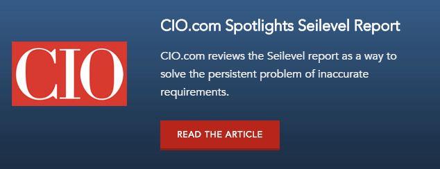 CIO Requrements Management Seilevel Report