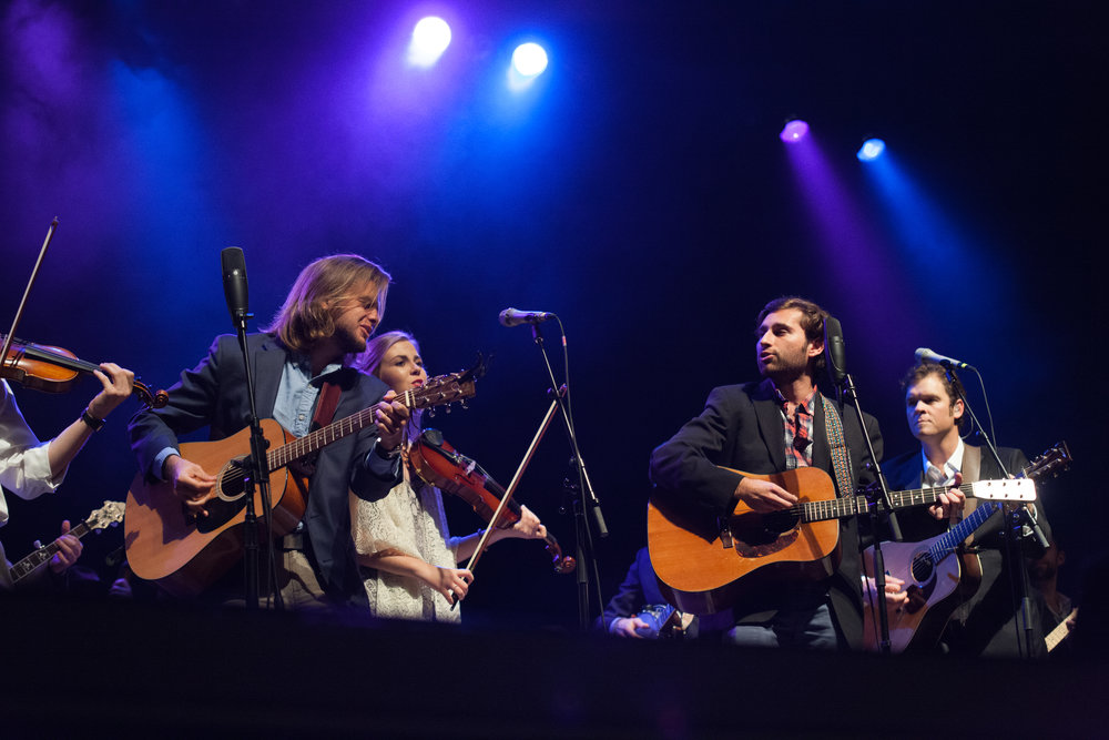 Memorial Hall with  Steep Canyon Rangers  - photo courtesy of  York Wilson Photography