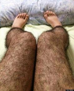 HAIRY LEG TIGHTS