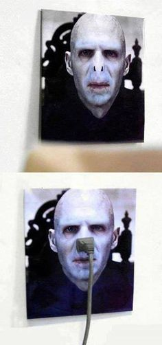 VOLDEMORT OUTLET COVER