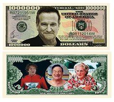 ROBIN WILLIAMS MONEY