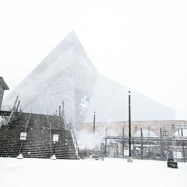 Jacksonville fans would have no idea what to do. #mpls looking very bold white north today  #superbowl