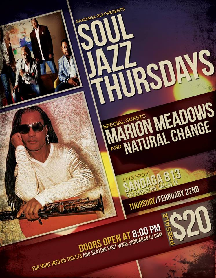MARION MEADOWS& NATURAL CHANGE  - FEBRUARY 22ND