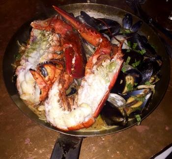Lobster Diavolo