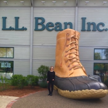 Obligatory giant duck boot photo