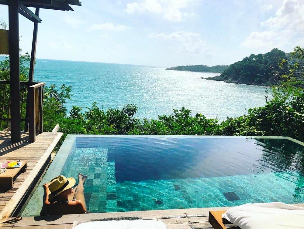Six Senses Samui Ocean Front Pool Villa in Koh Samui, Thailand