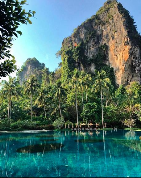 Rayavadee Hotel Pool, Krabi, Thailand