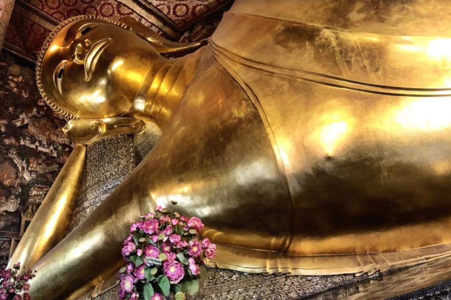 Wat Pho - Temple of the Reclining Buddha in Bangkok, Thailand