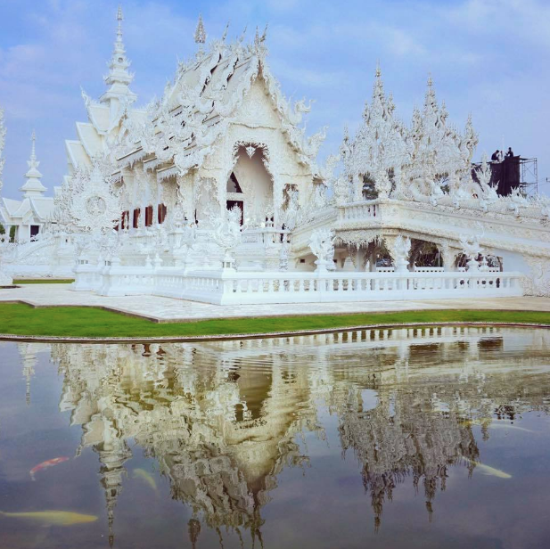 Wat Rong Khun - The White Temple in Chiang Rai, Thailand