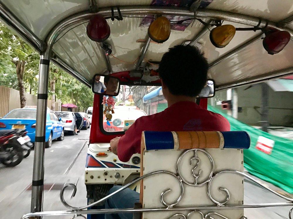 Tuk tuk in Chiang Mai, Thailand