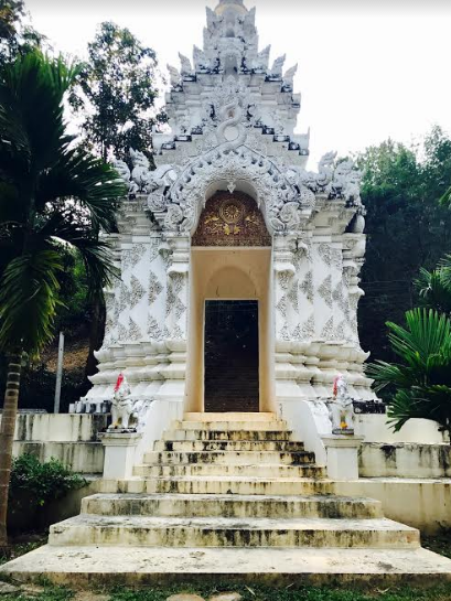 Entrance to the Chiang Mai White Temple