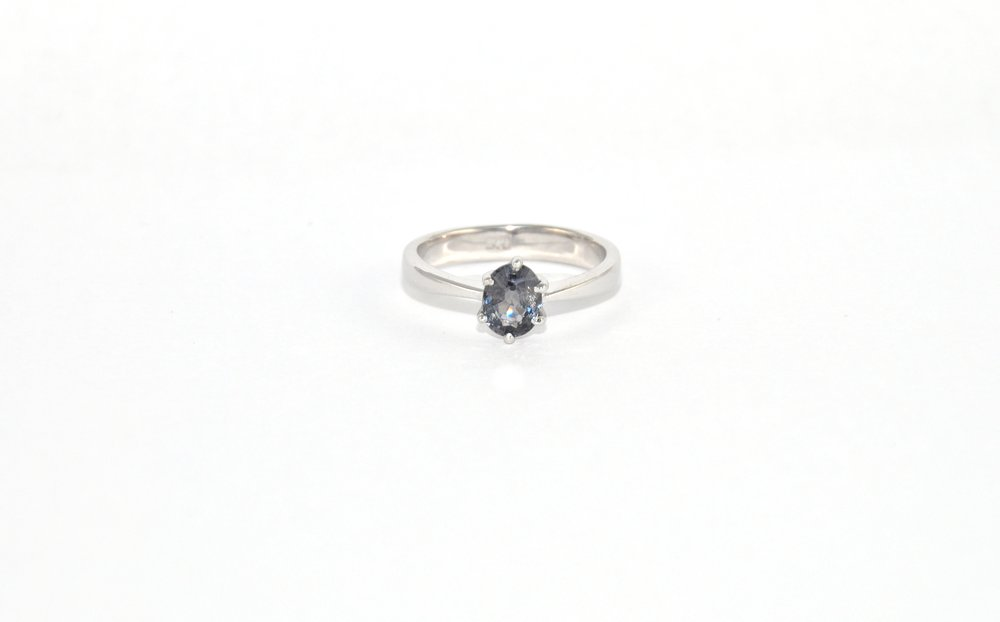 Solitaire Spinel Ring - Women's