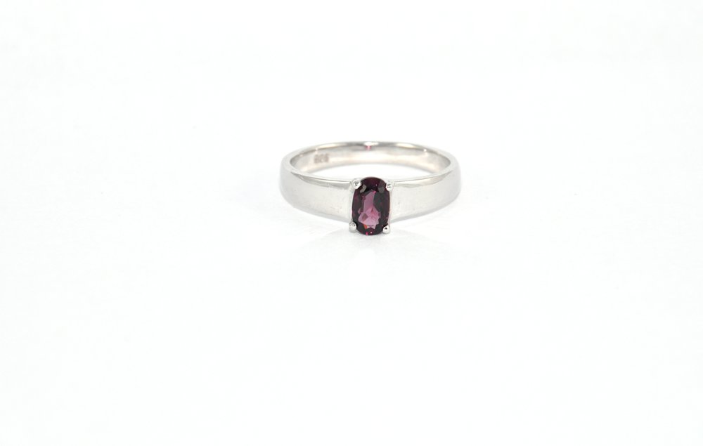 Solitaire Spinel Ring - Men's