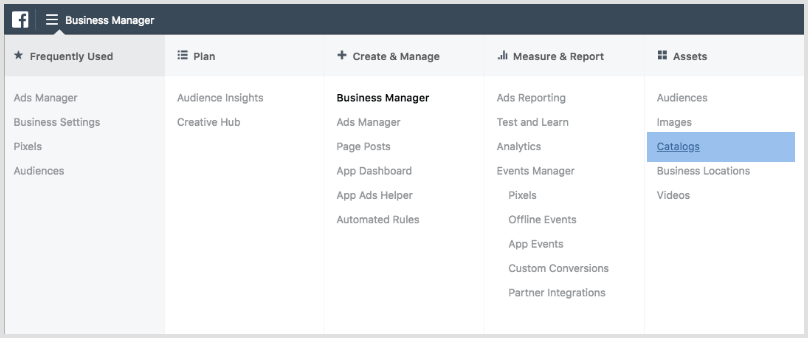 Facebook Business Manager - Product Catalog.png