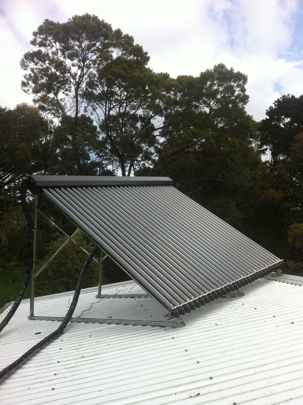 solar water heating in Kirkstall