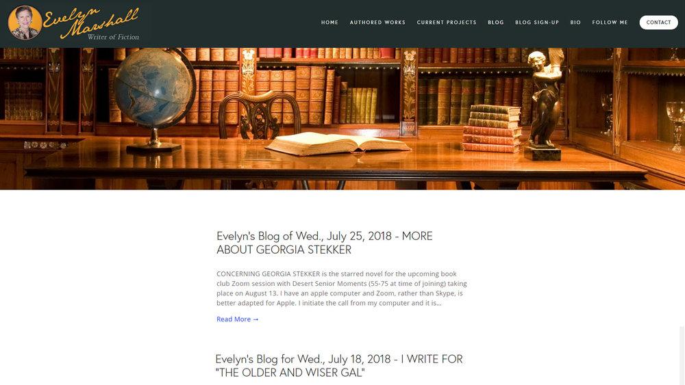 Blog Set-Up & Import from Wordpress