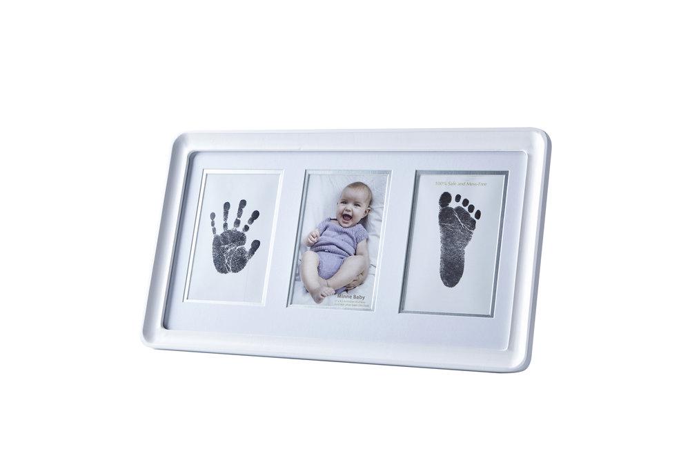 Minne Baby Handprint and Footprint Photo Frame Kit — minne baby