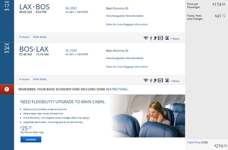 Find Cheap Flights from Los Angeles to Boston Logan International (LAX -  BOS)