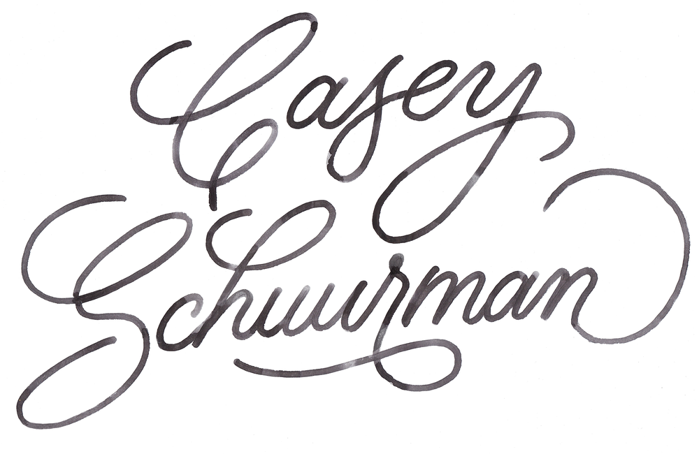 Casey Schuurman — Lettering and Custom Typography