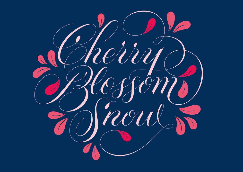 caseyschuurman_cherry blossom lettering_navy