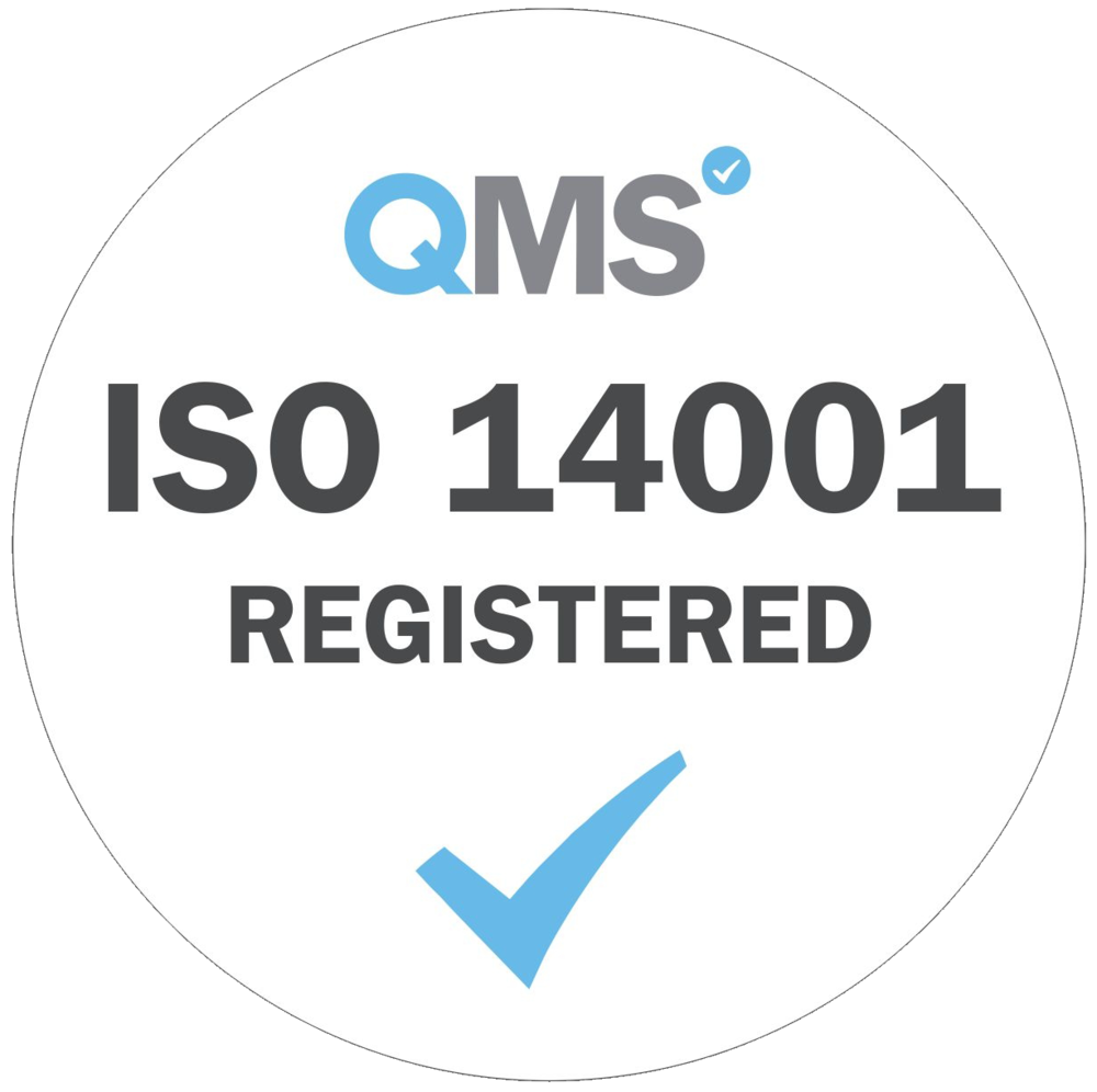 ISO 14001: 2015 – Environmental Management System.