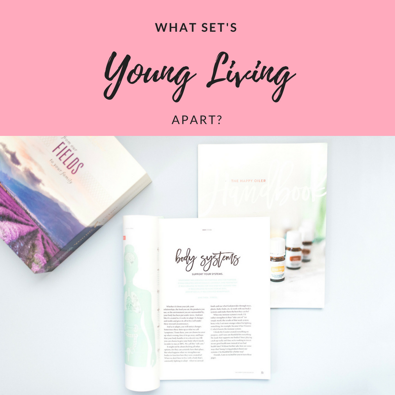What set's Young Living Apart