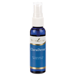 Postnatal Care - ClaraDerm™ spray soothes dry, chapped, or itchy skin. Its gentle blend of Lavender, Frankincense, and other essential oils is expertly formulated to relieve skin ailments. It is especially comforting to delicate skin before and after childbirth. ESSENTIAL OILS: Frankincense, Helichrysum, Lavender, Melaleuca Alternifolia, Myrrh