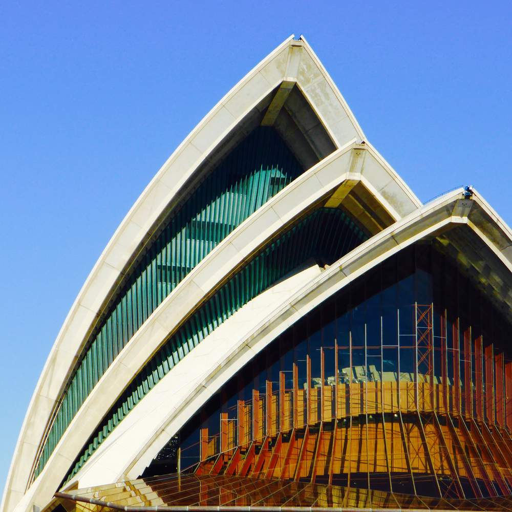 The Sydney Opera House, Sydney, Australia taken on our point-and-shoot Panasonic camera!