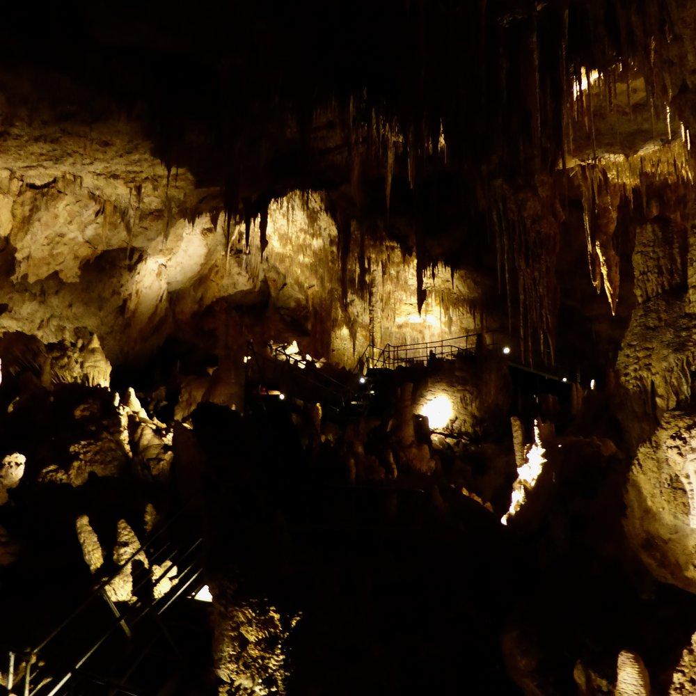 Inside Mammoth Cave, Margaret River Region, Western Australia