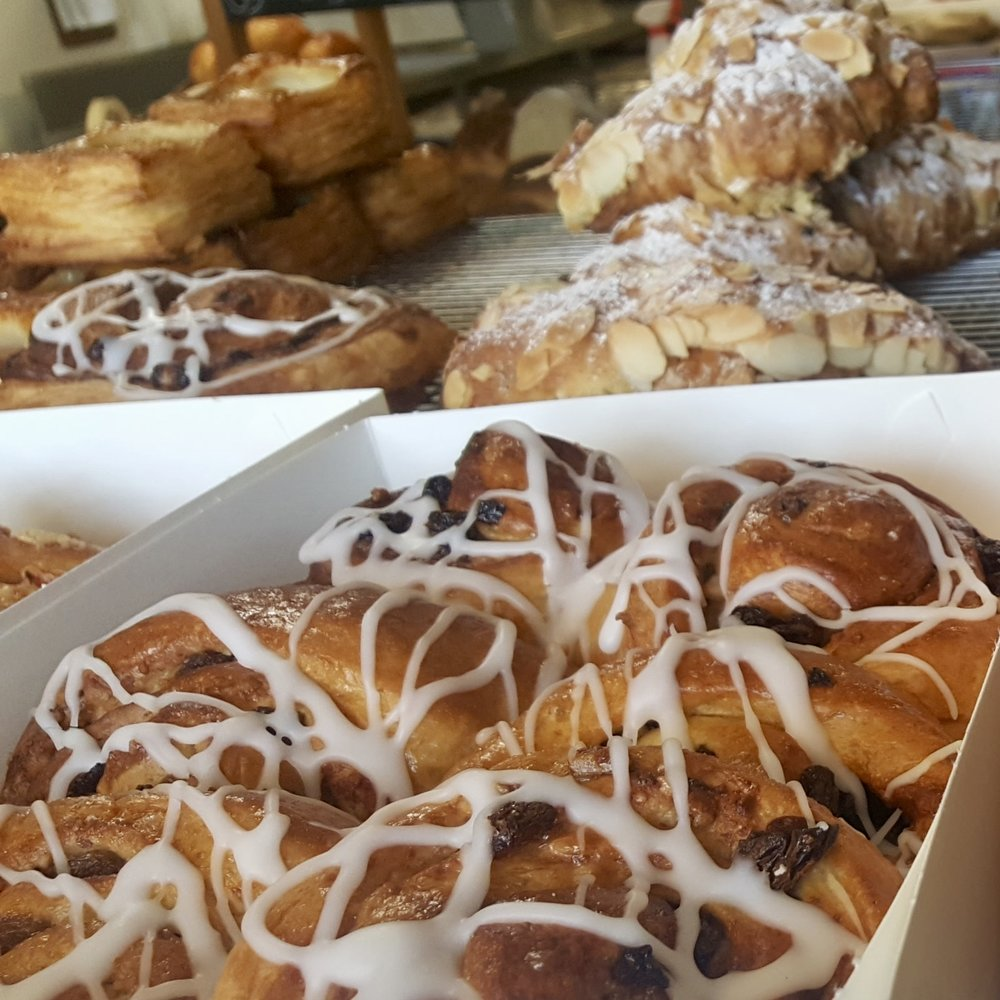 Pastries at Racine Bakery, Orange, Central New South Wales, Australia