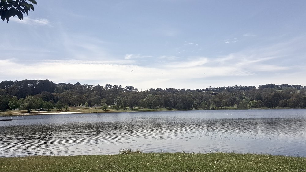 Lake Canobolas, Orange, Central New South Wales, Australia
