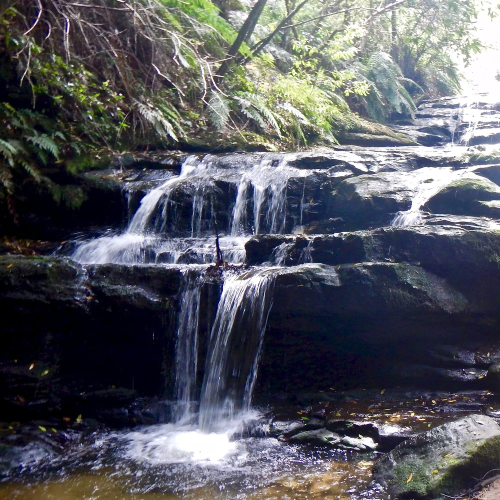Leura Cascades, Blue Mountains National Park, Central New South Wales, Australia