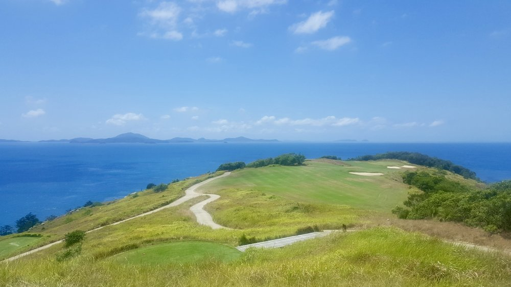 Dent Island golf course