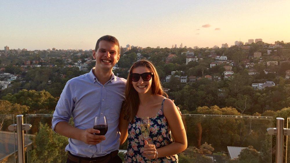 Matt and Rachel, Across Land & Sea